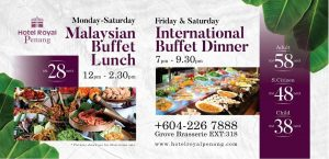 MALAYSIAN BUFFET LUNCH