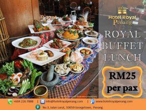 Royal Buffet Lunch